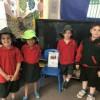 Belle Vue Preps Visit Bellevue Kindergarten!