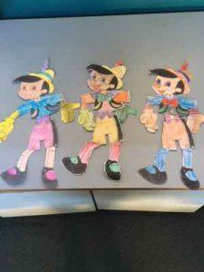 Prep Pinocchio Puppets